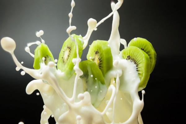 receta de batido con kiwi y leche de soja