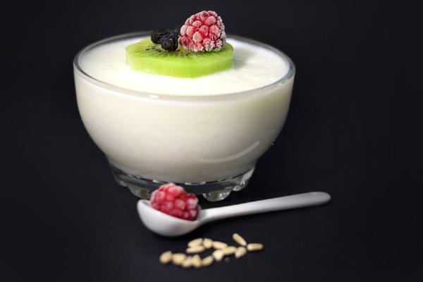 receta de batido con kiwi y yogurt