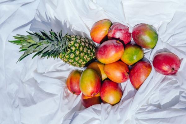 batido de piña y mango