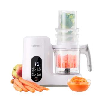 Babycook Robot de Cocina Multifuncion 6-en-1 para Bebé - Vapor, Batidora, Limpieza Automática, Esterilizador de Biberones