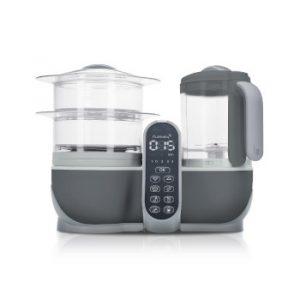 Babymoov Nutribaby+ A001124 - Procesador de alimentos para bebés, cocción al vapor y batidora