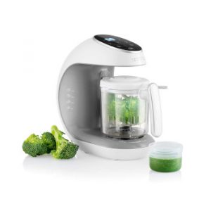 Robot de cocina Multifuncion - Babycook Multifunción 7 en 1 para Bebés - Al vapor, Procesador de Alimentos, Limpieza Automática